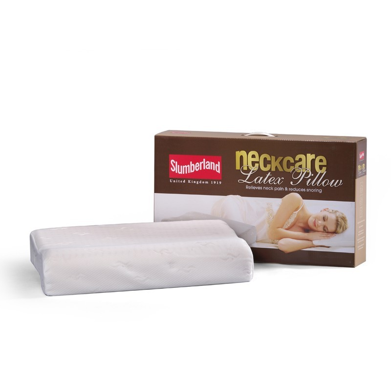 SLUMBERLAND NECK CARE LATEX PILLOW
