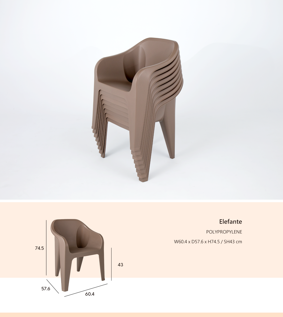 Elefante Side Chair