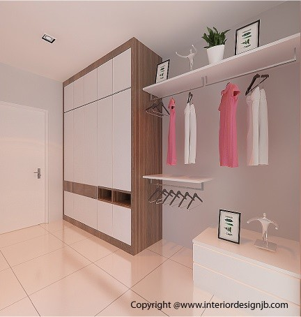 Cabinet custom make (interior design) - Taman Flora Height, Johor Bahru