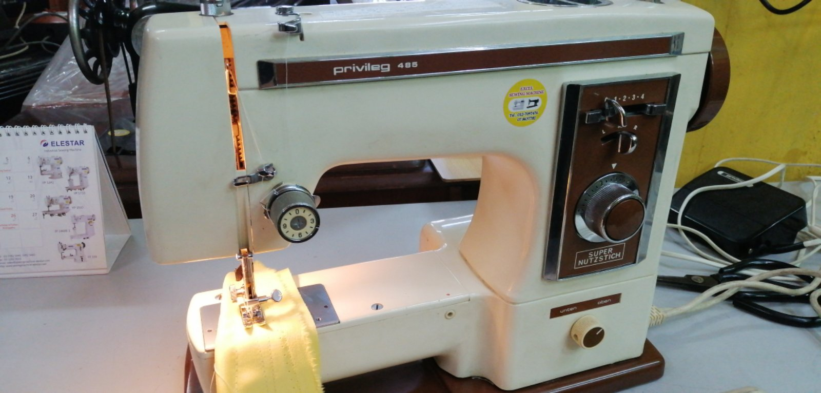 Repair Special Sewing Machine