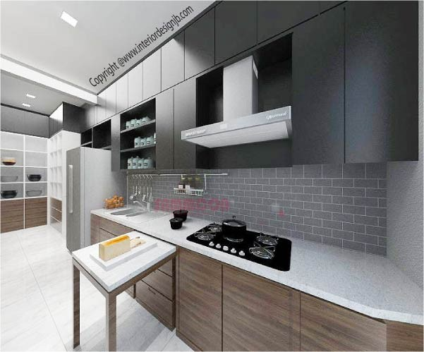 Interior Design Johor Bahru (JB) - Kitchen renovation
