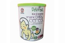 DELIREAL ORGANIC BABY CEREAL 400G