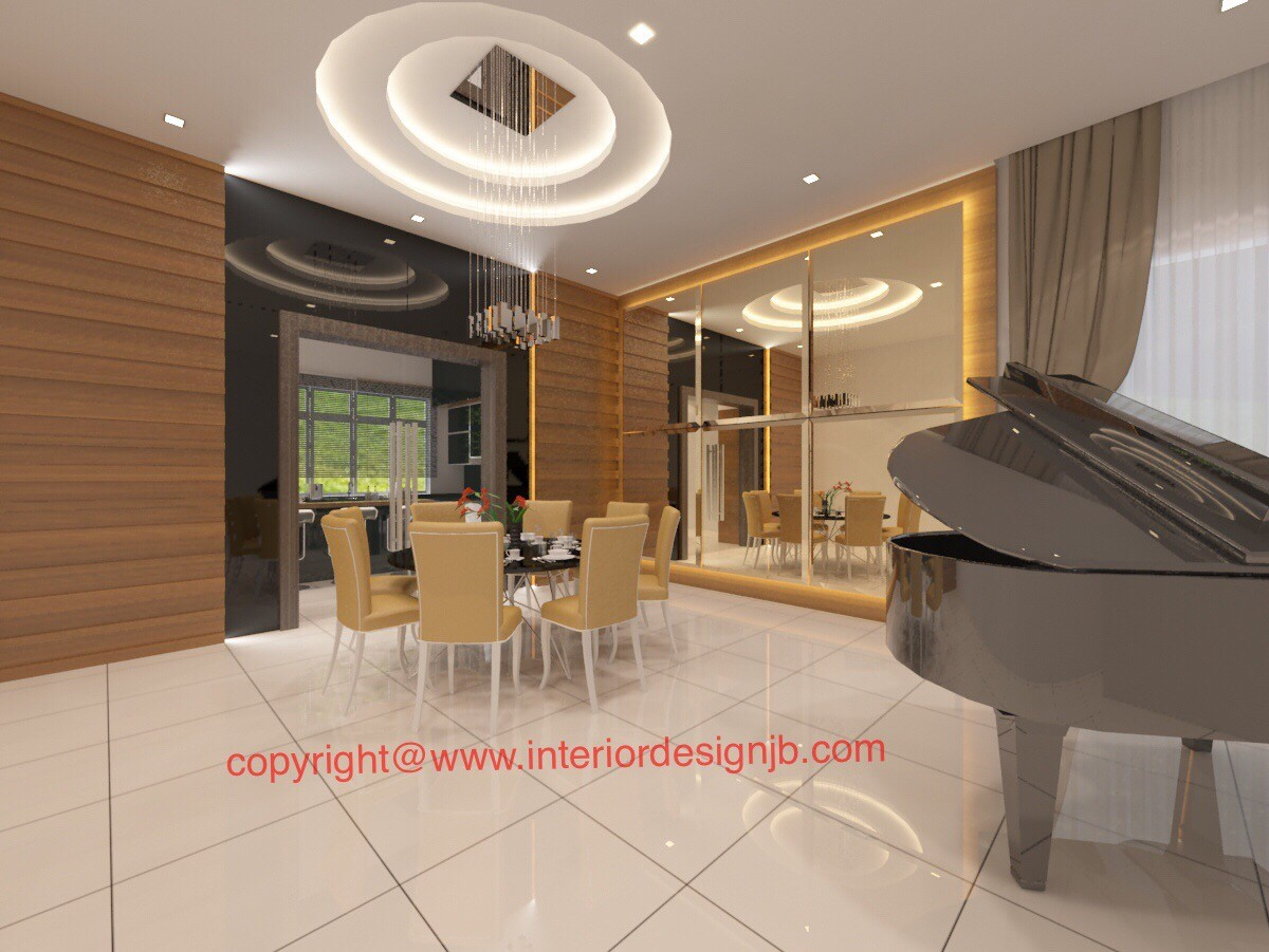 Interior Design Johor Bahru (JB) - Dining hall renovation