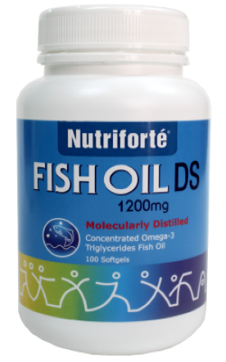 NUTRIFORTE FISH OIL DS 1200MG