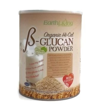 EARTH LIVING ORGANIC B-GLUCAN POWDER 850G