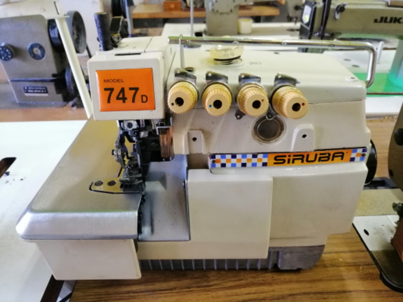 Second Hand Siruba Overlock Sewing Machine