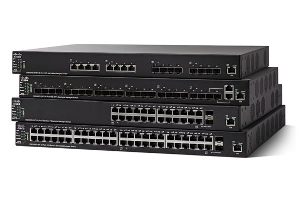 Cisco 48-Port 10GBase-T Stackable Managed Switch.SG550XG-48T