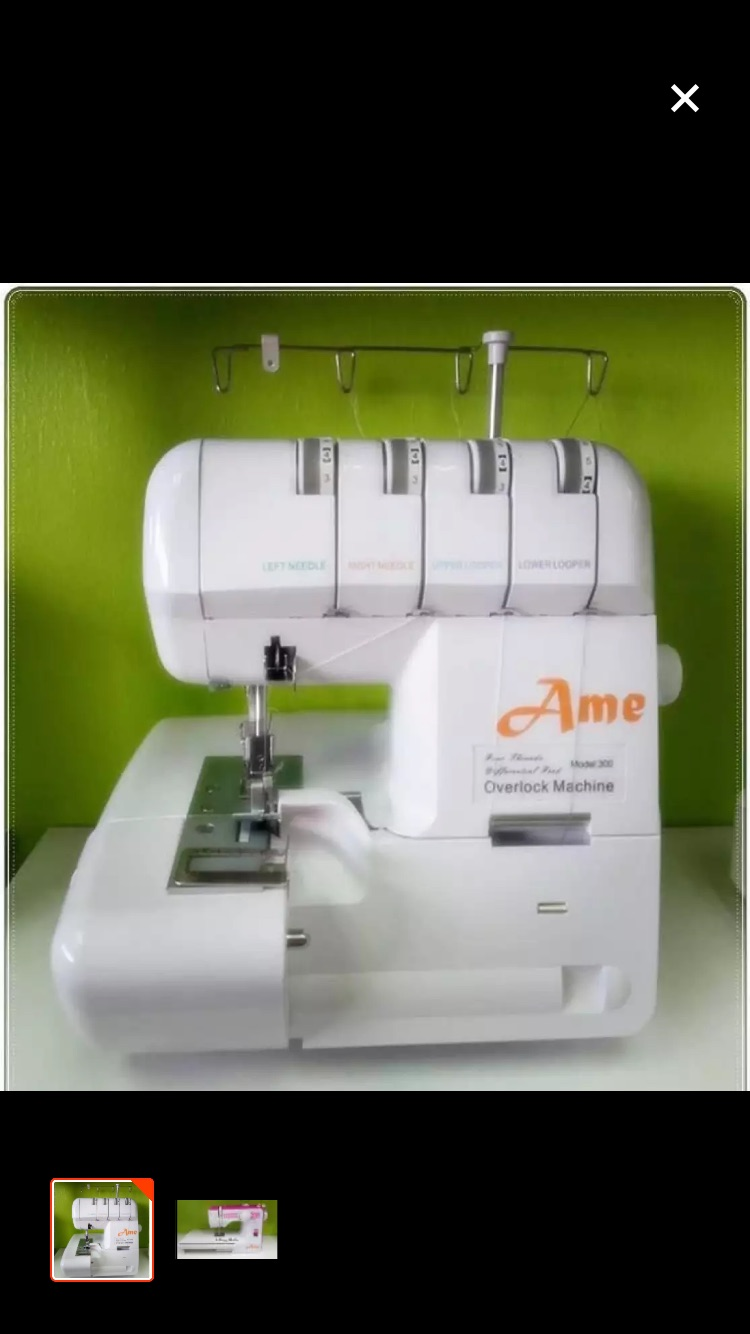 News Ame Portable Overlock Sewing Machine