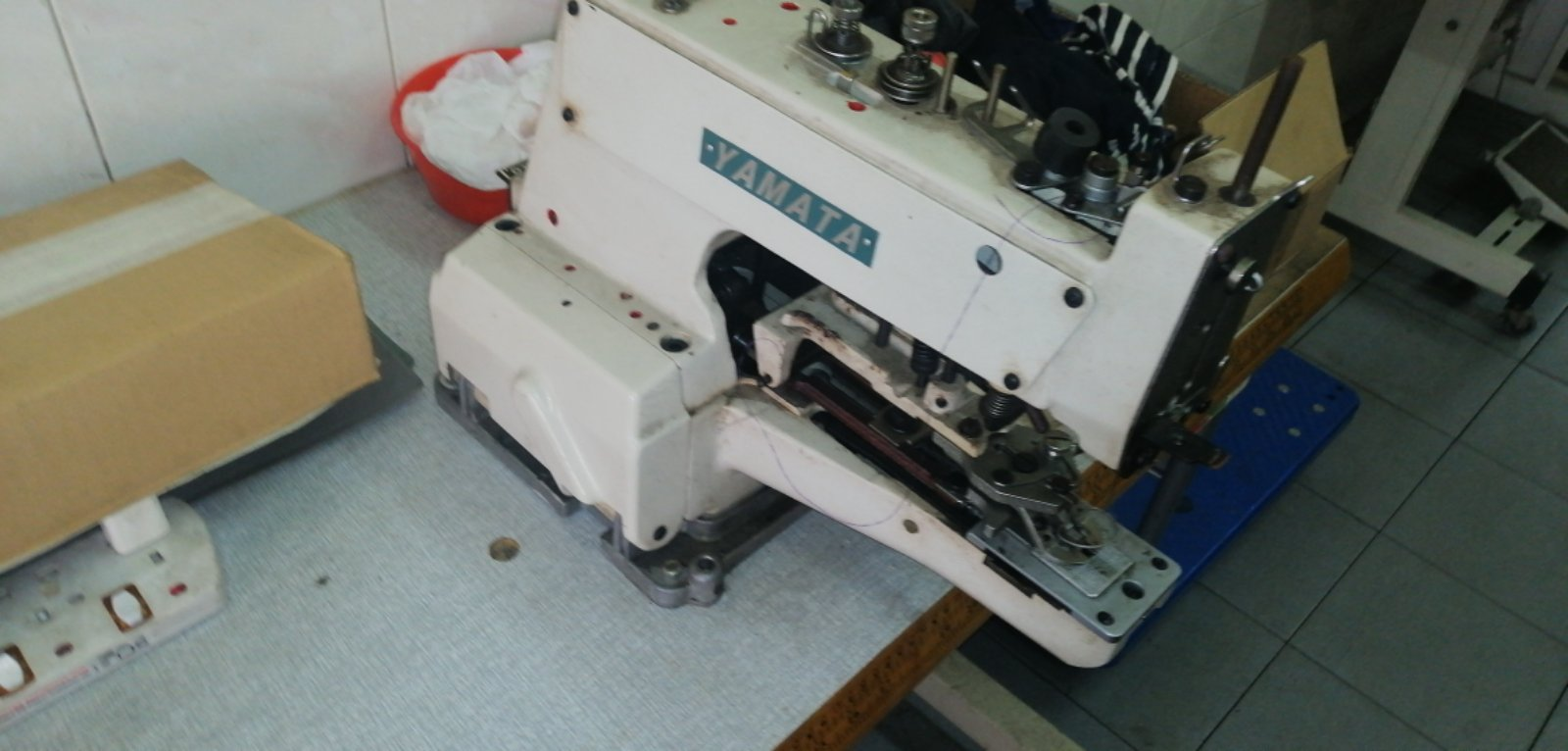 User Yamata Button Sewing Machine