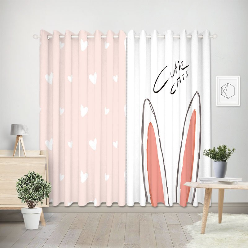 Curtain Rabbit Design 1041