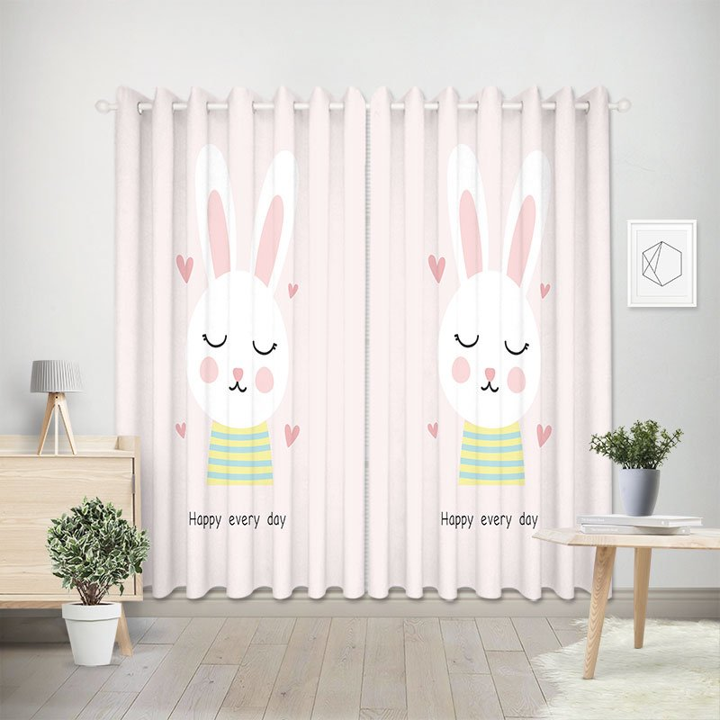 Curtain Rabbit Pink 1051