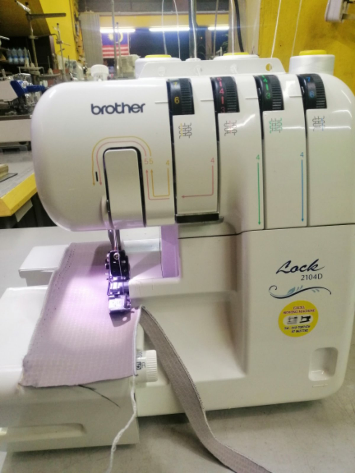 Sevis Brother Portable Overlock Sewing Machine