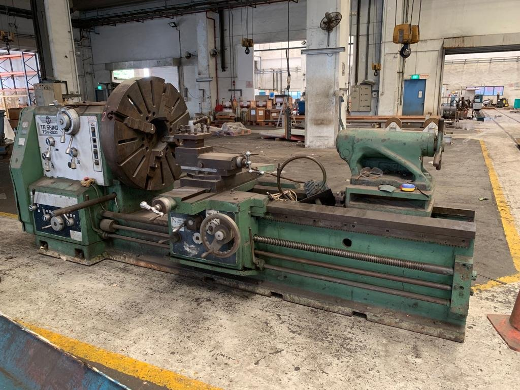 "Used Taiwan ""Ta Shing"" Model:  TSN-2000 Lathe."