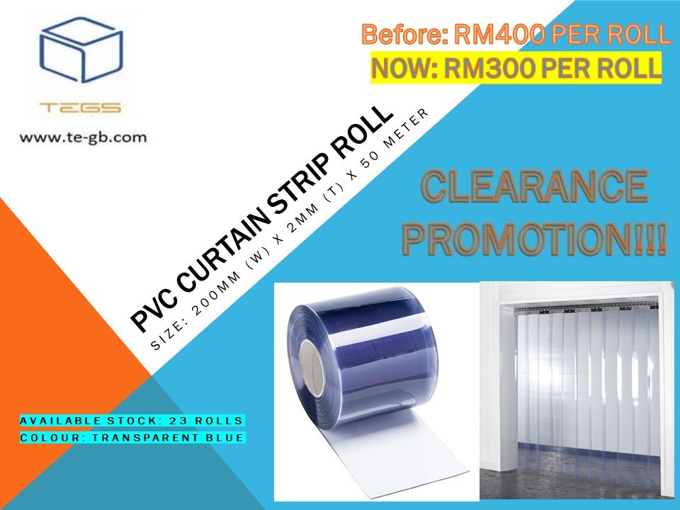 Offer for PVC Curtain Strip Roll