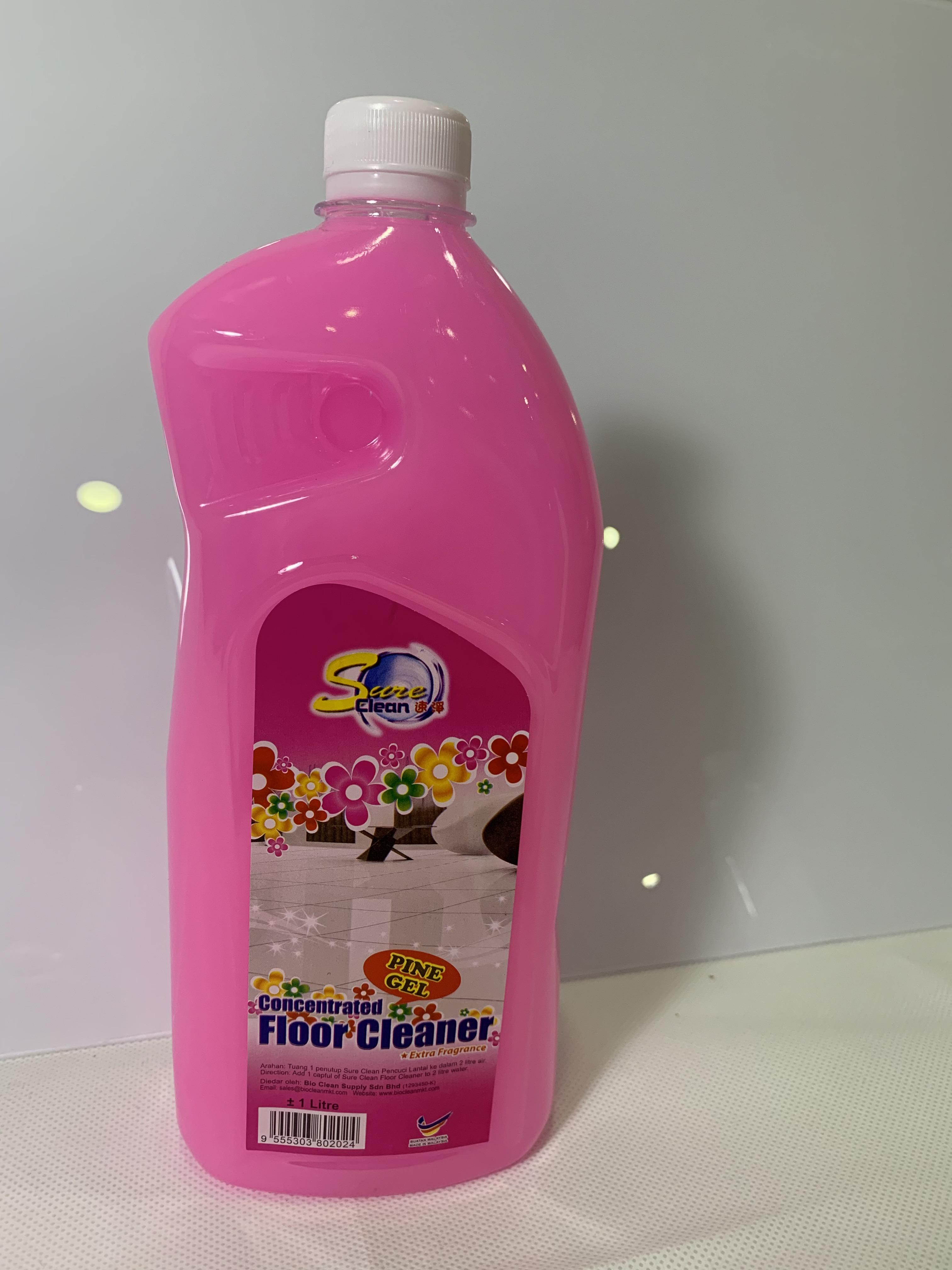 SC Floor Cleaner 1lt - Pine Gel 2024