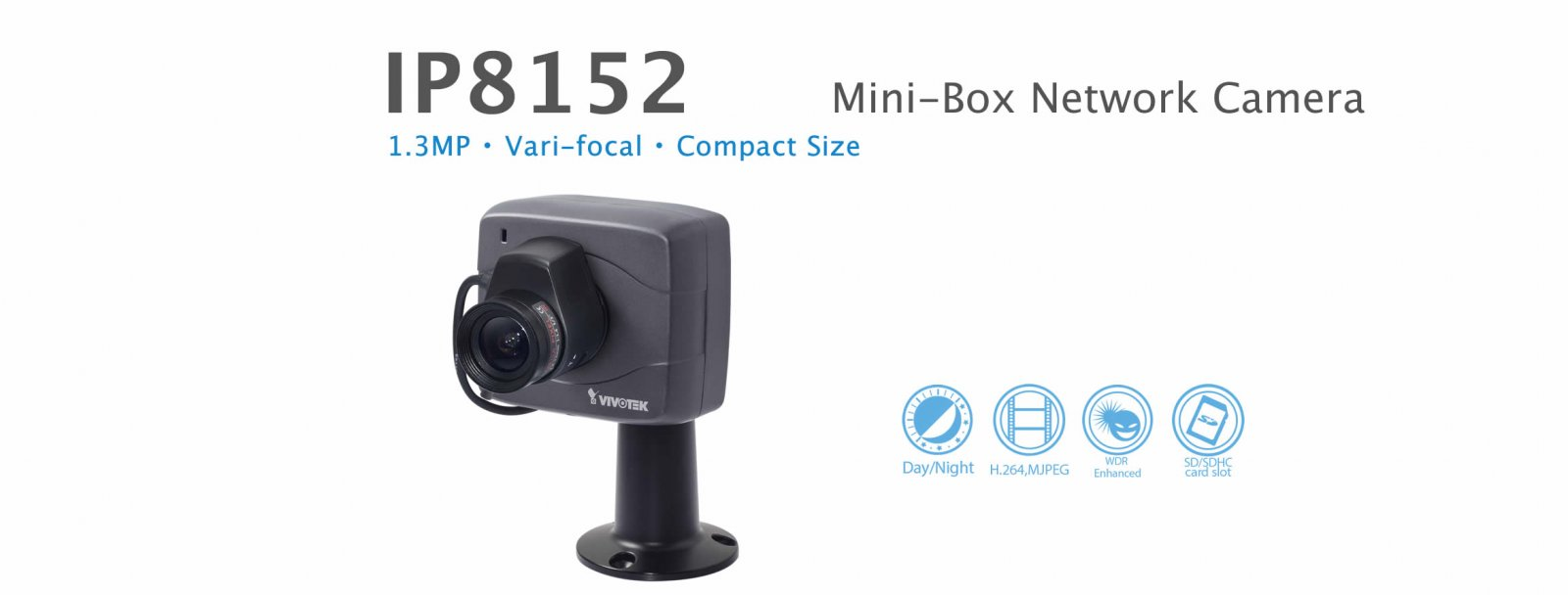 IP8152. Vivotek Mini-Box Network Camera
