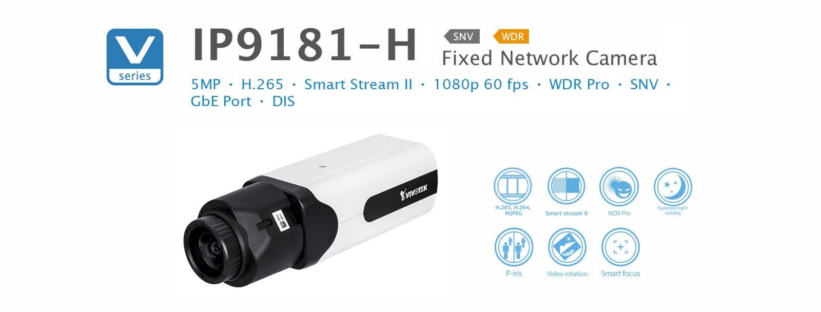 IP9181-H. Vivotek Fixed Network Camera