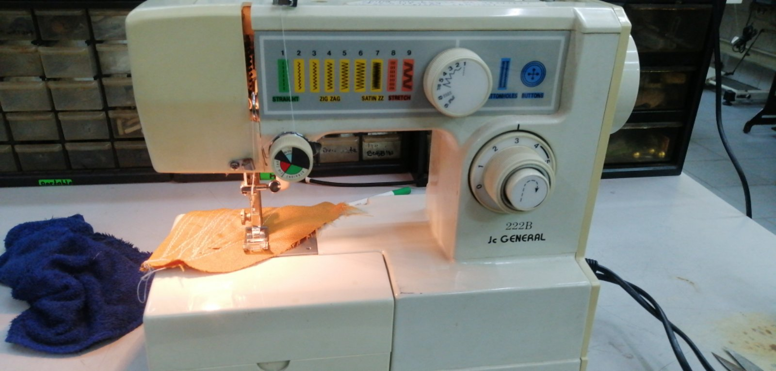 Repair Sevis JCGenenal Portable Sewing Machine