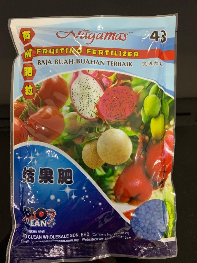 Nagamas Fruiting Fertilizer 400g 5841