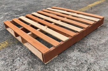 Wooden Pallet Size 1100*1100*130mmH