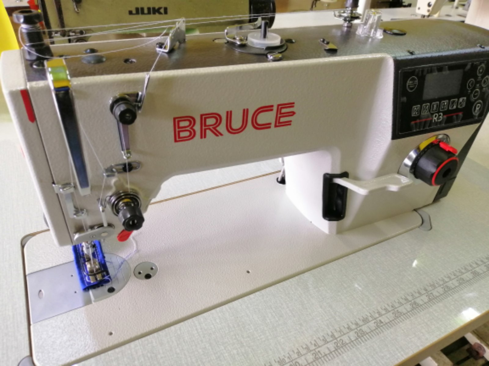 New Bruce Automatik Direct Drive Motor Sewing Machine