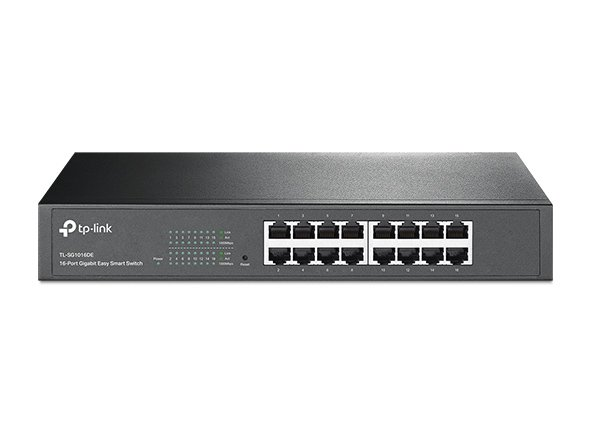 TL-SG1016DE. TPlink 16-Port Gigabit Easy Smart Switch