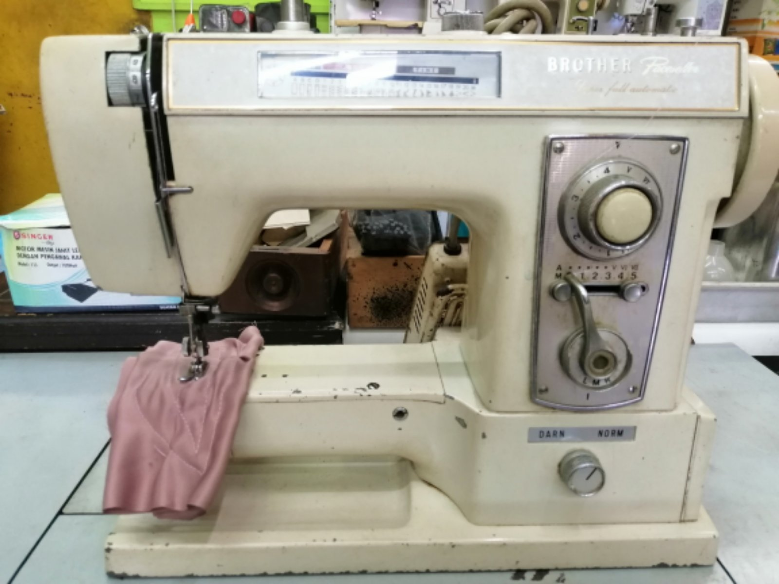 Repair Sevis Brother Portable sewing machine