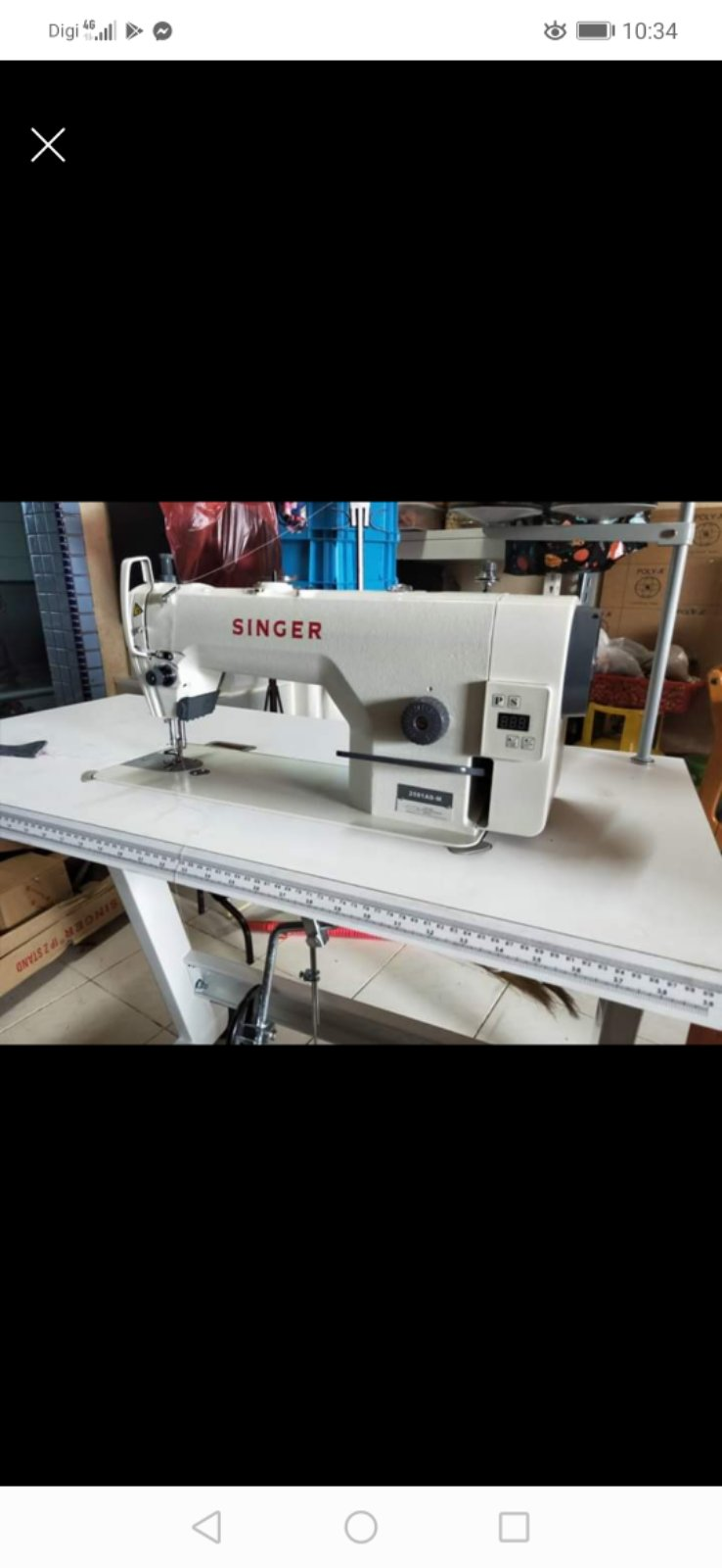 1New Singer Hi Speed Sewing machine