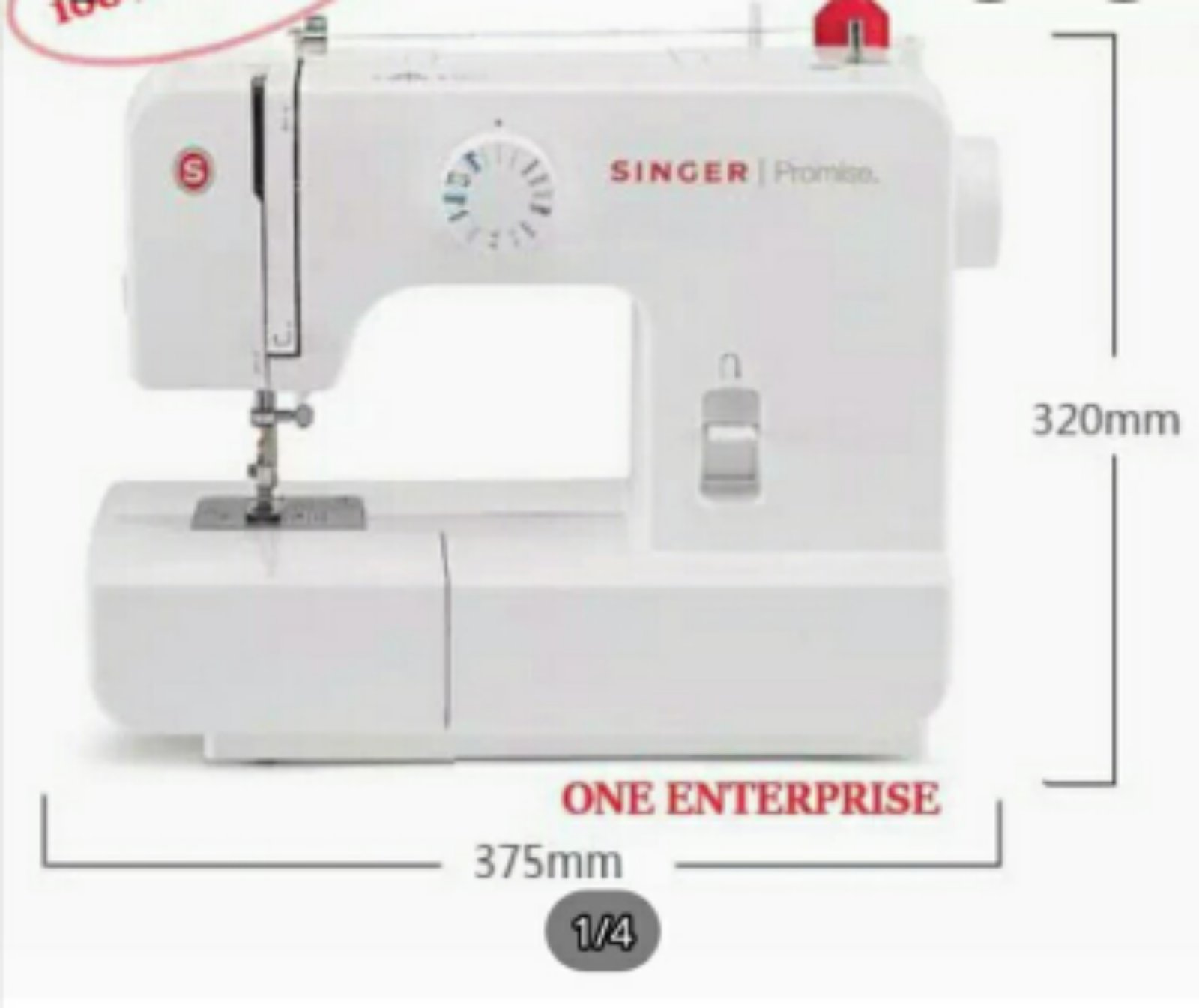 Singer Portable Zie Zig Sewing Machine