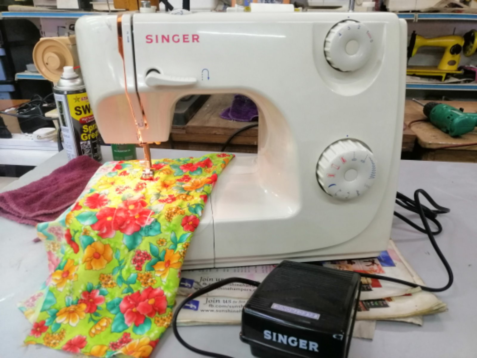 2ndSinger Portable Sewing Machine