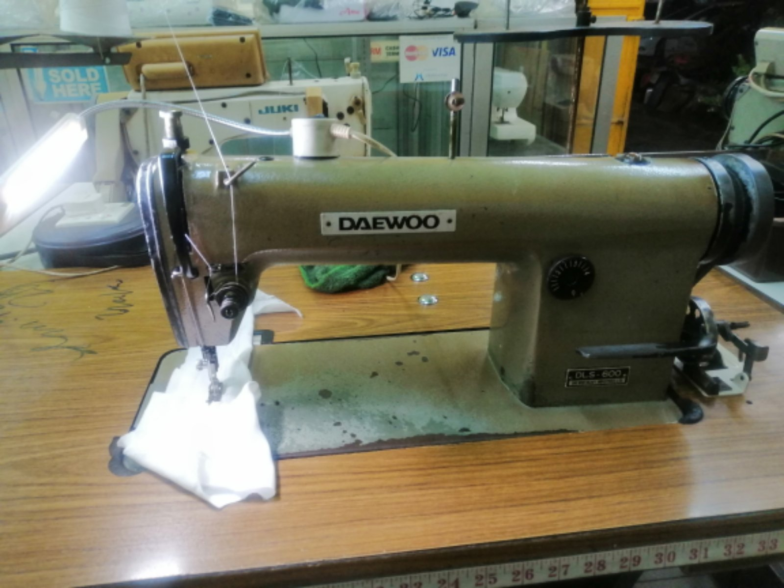 REPAIR Daewoo hi speed sewing machines