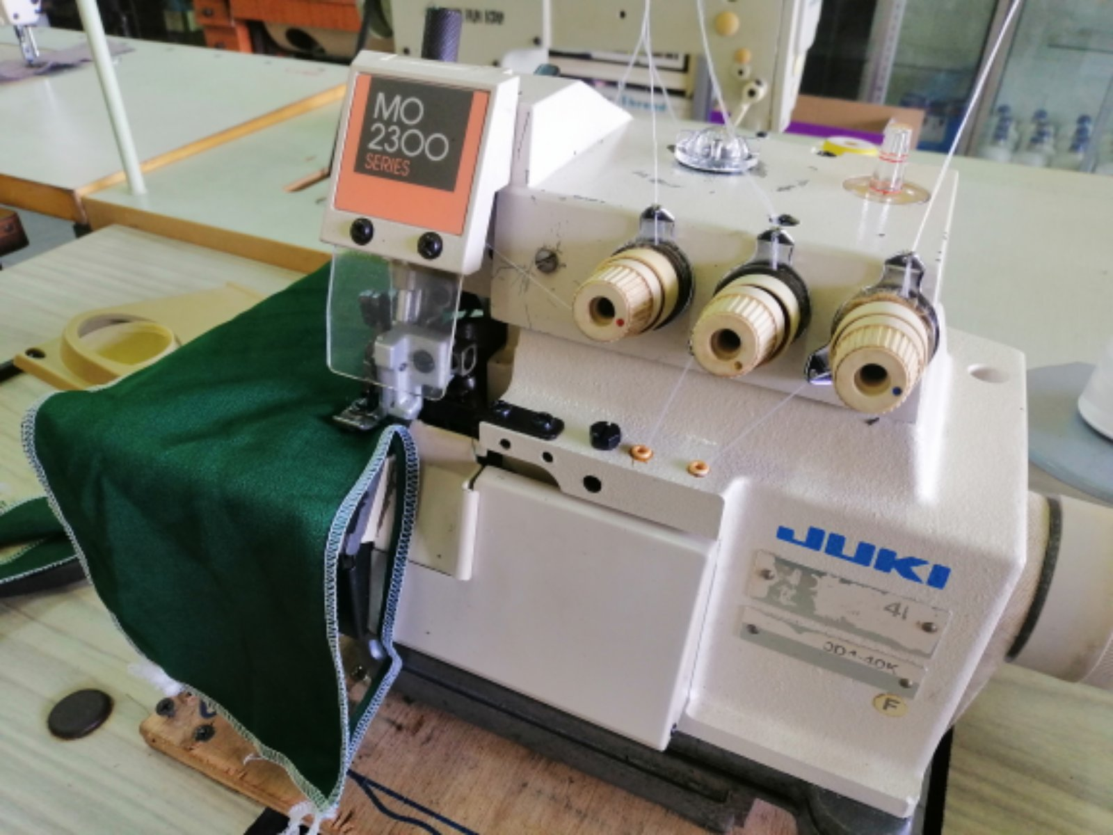 Repair Dan Sevis Juki Overlock Sewing Machine