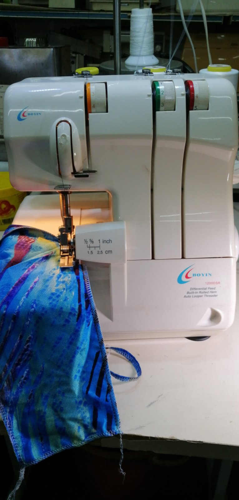 Boyin Portable Overlock Sewing machine