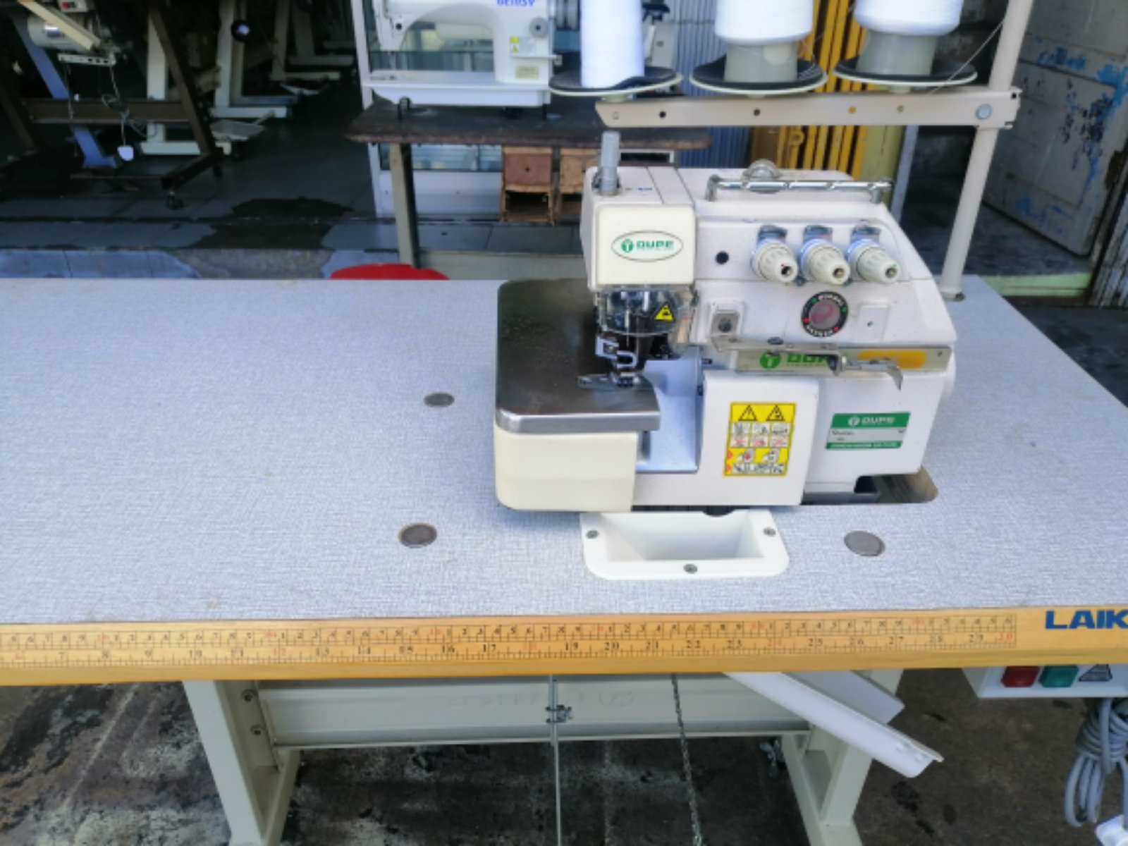 Second Hand Industrial Overlock Sewing Machine