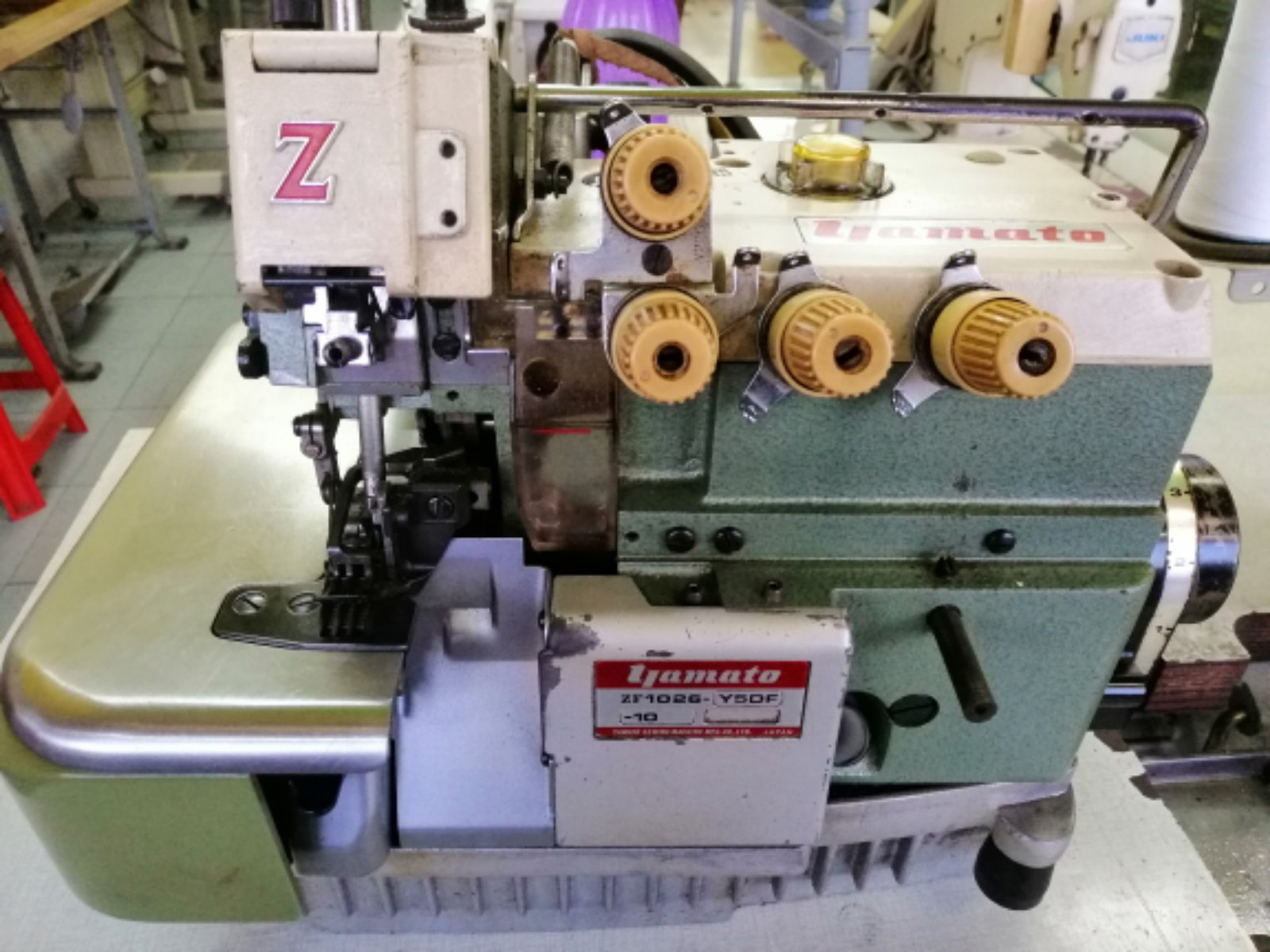 Second-hand Yamato Industrial Overlock Sewing Machine
