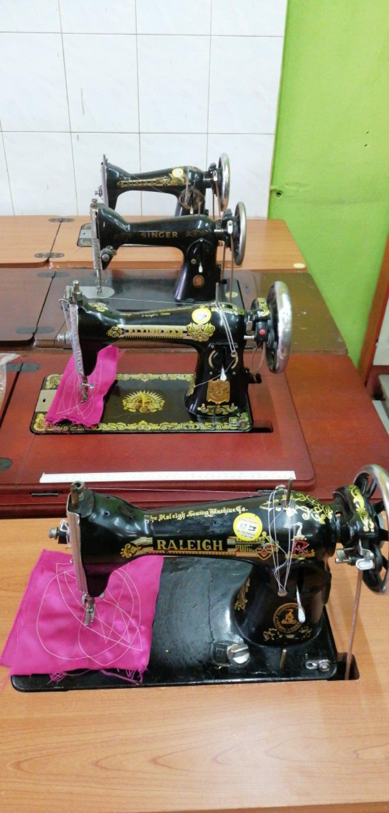 New And Second Hand Antique Sewing Machine