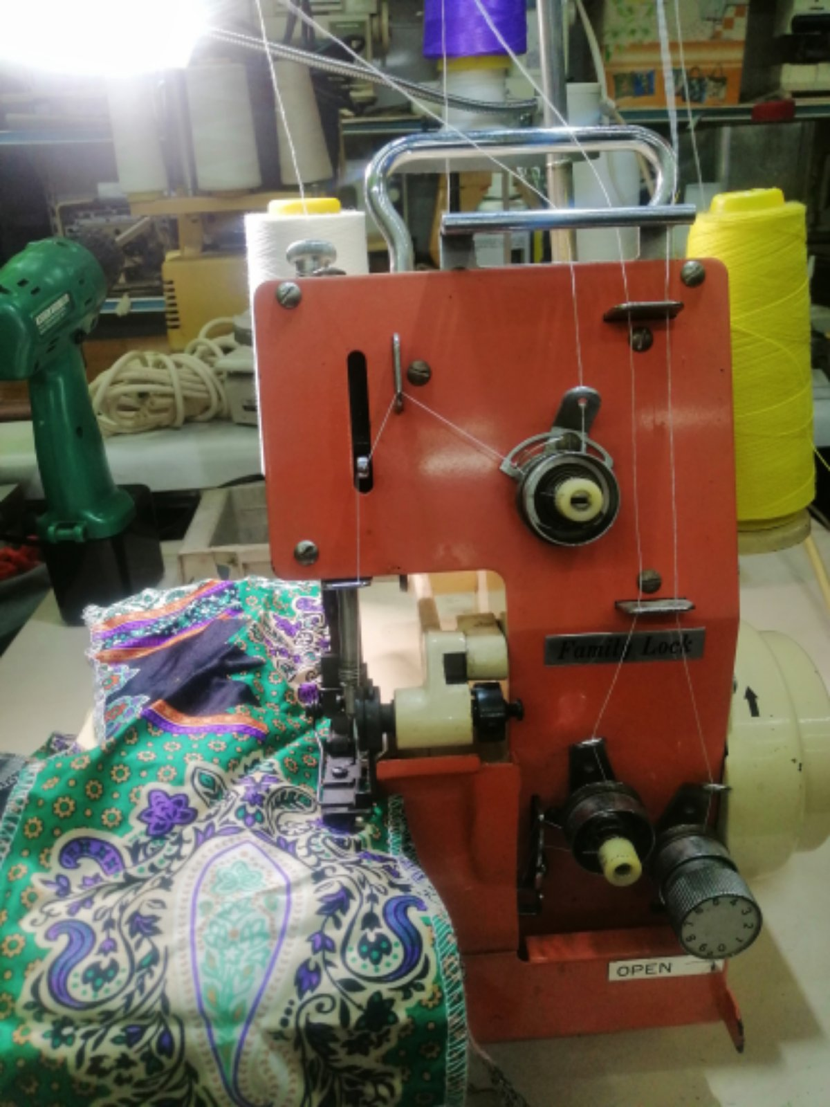 Portable Overlock Sewing machine