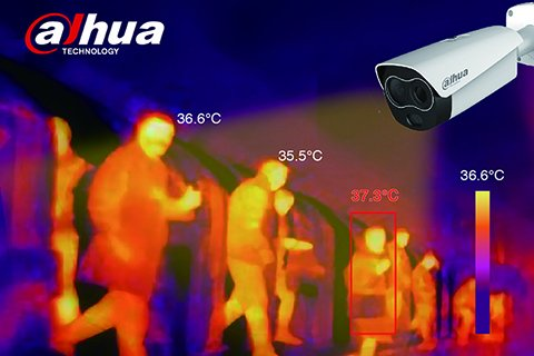 DAHUA THERMAL SOLUTION TO MEASURE HUMAN BODY TEMPERATURE