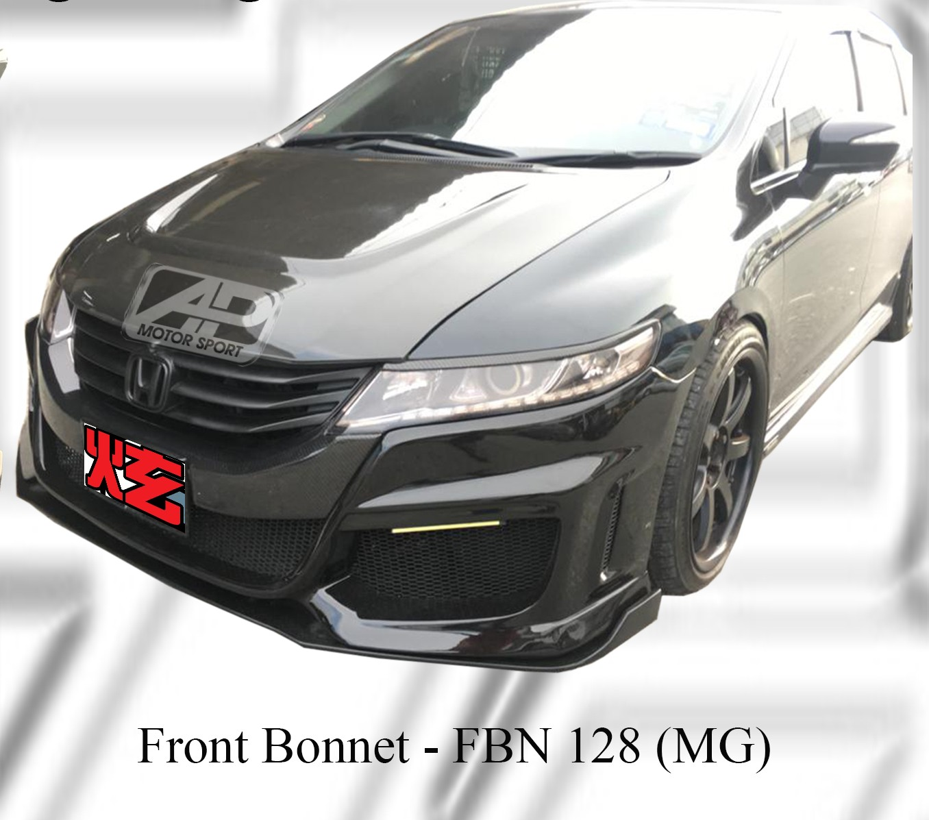 Honda Odyssey RB3 MG Style Front Bonnet