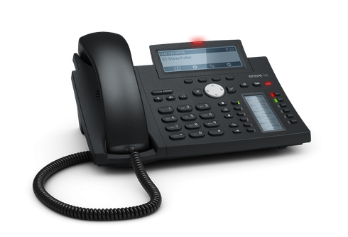 D345. Snom Desk Telephone (High resolution display and self-