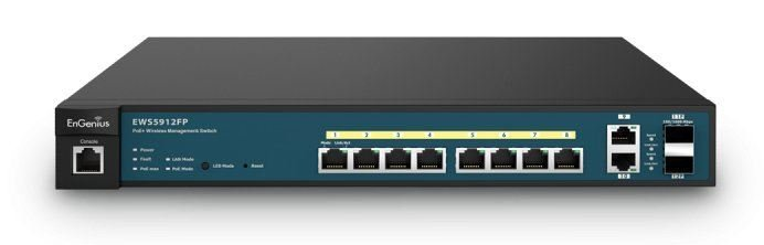 EWS5912FP. Engenius 8-Port Gigabit PoE+ L2 Wireless Manageme