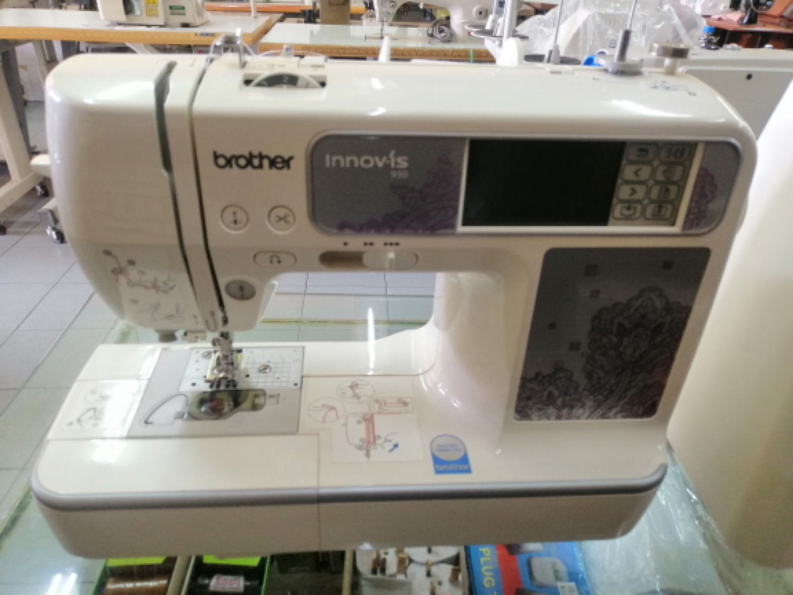 Second Hand Brother Emboidery Sewing Machine