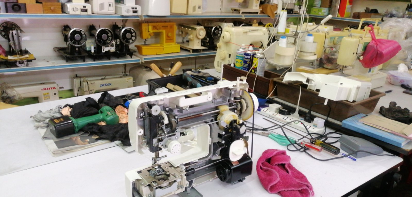 Repair And Sevis Portable Industrial Sewing Machine