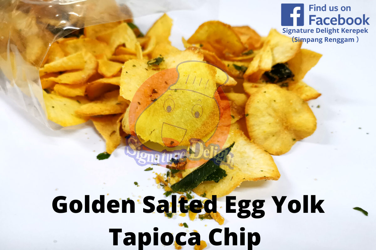 Golden Salted Egg Yolk Tapioca Chip