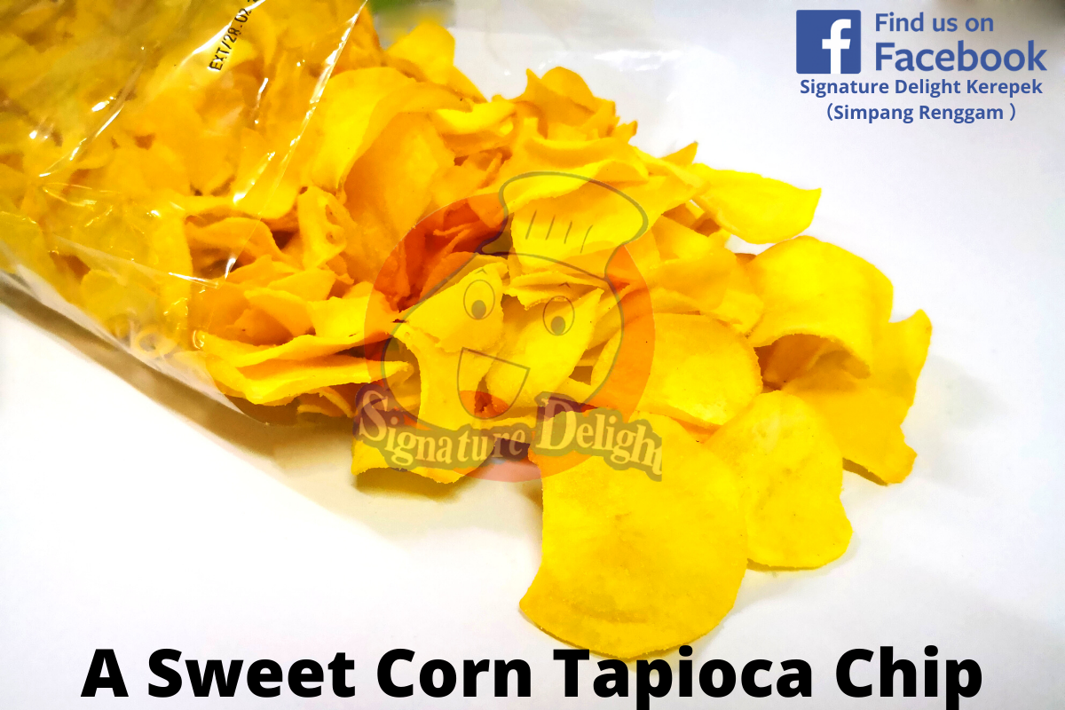 A Sweet Corn Tapioca Chip