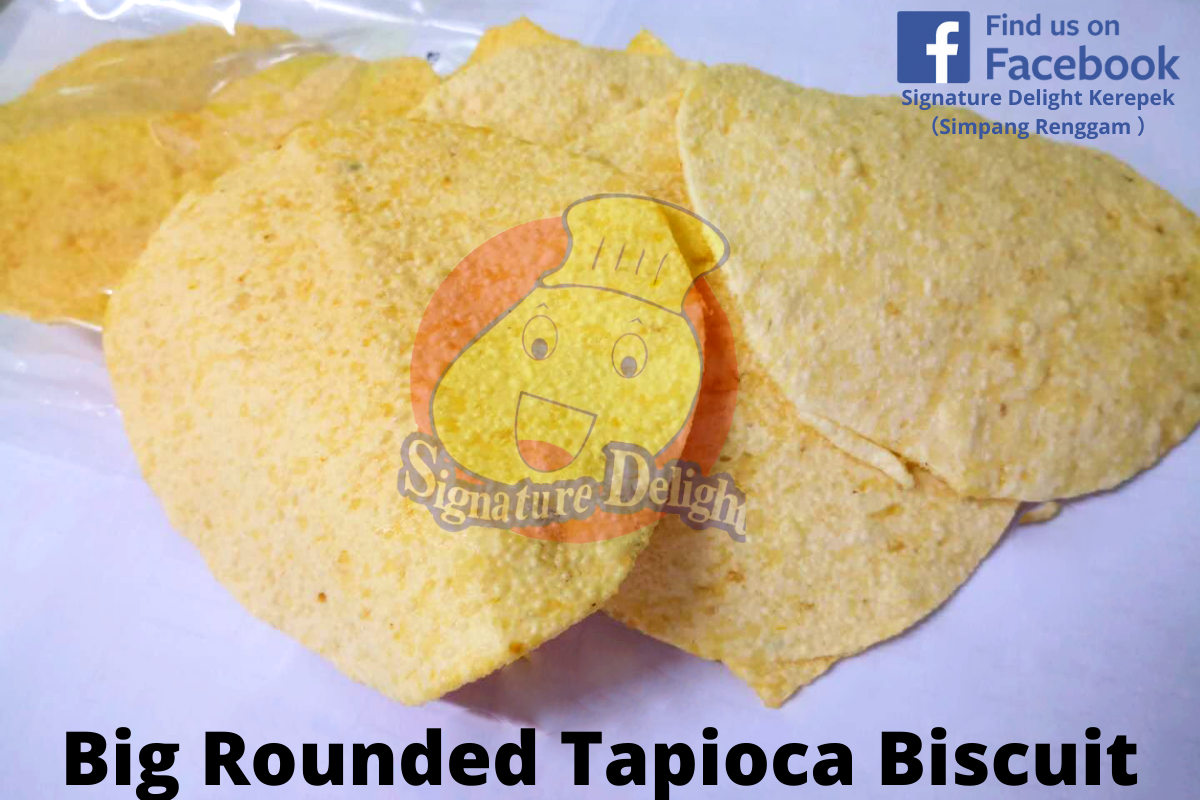 Big Rounded Tapioca Biscuit