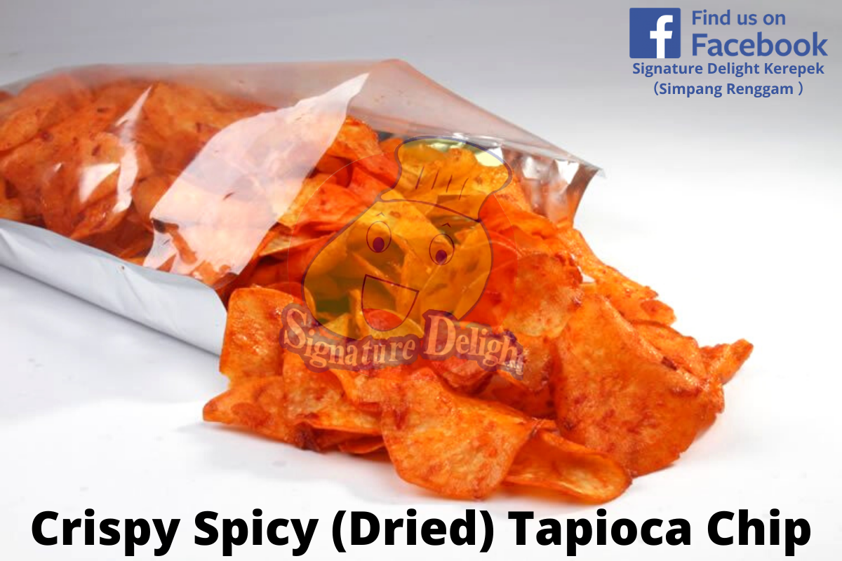 Crispy Spicy (Dried) Tapioca Chip