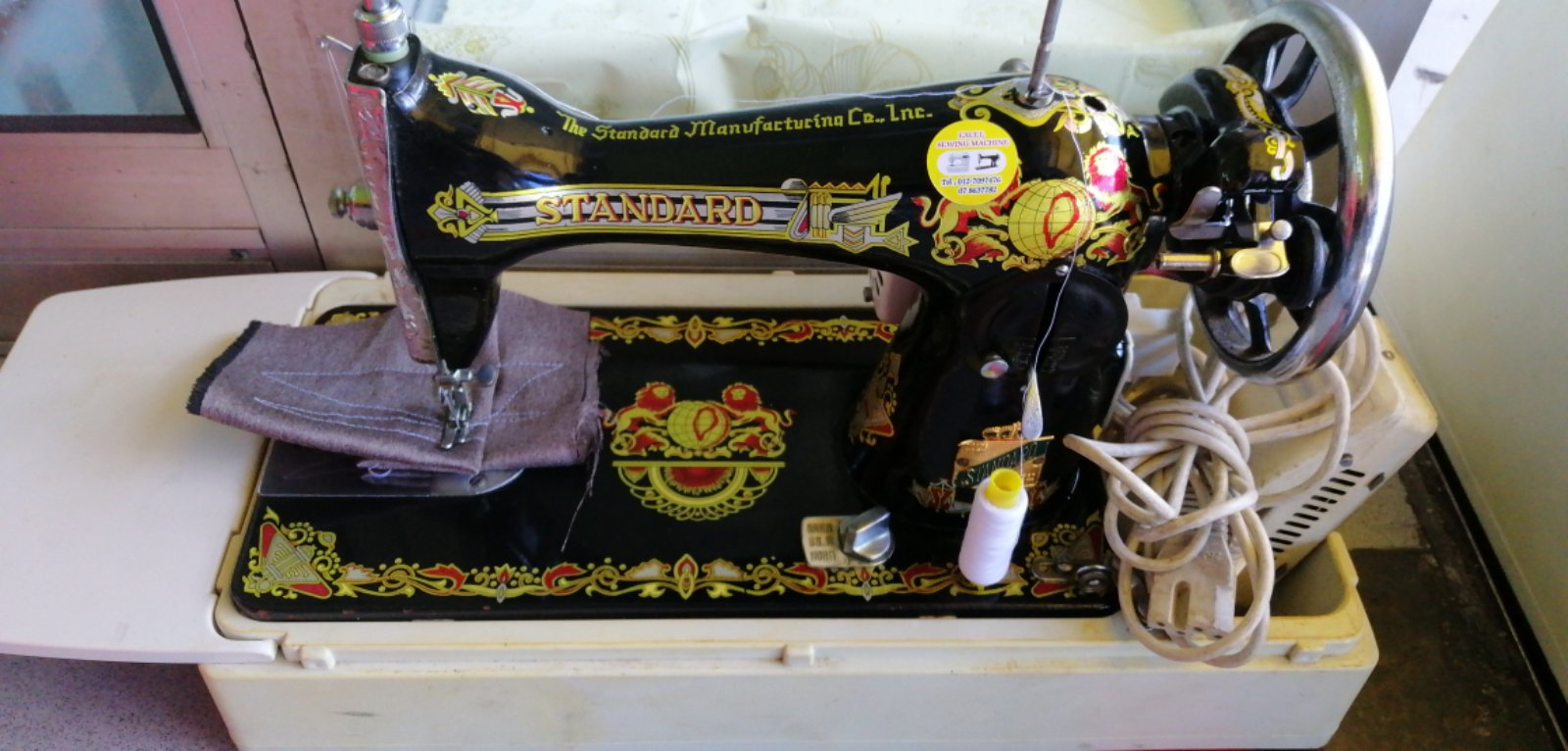 Job For Sevis Repair Standard Antique Cover Top Sewing Machine