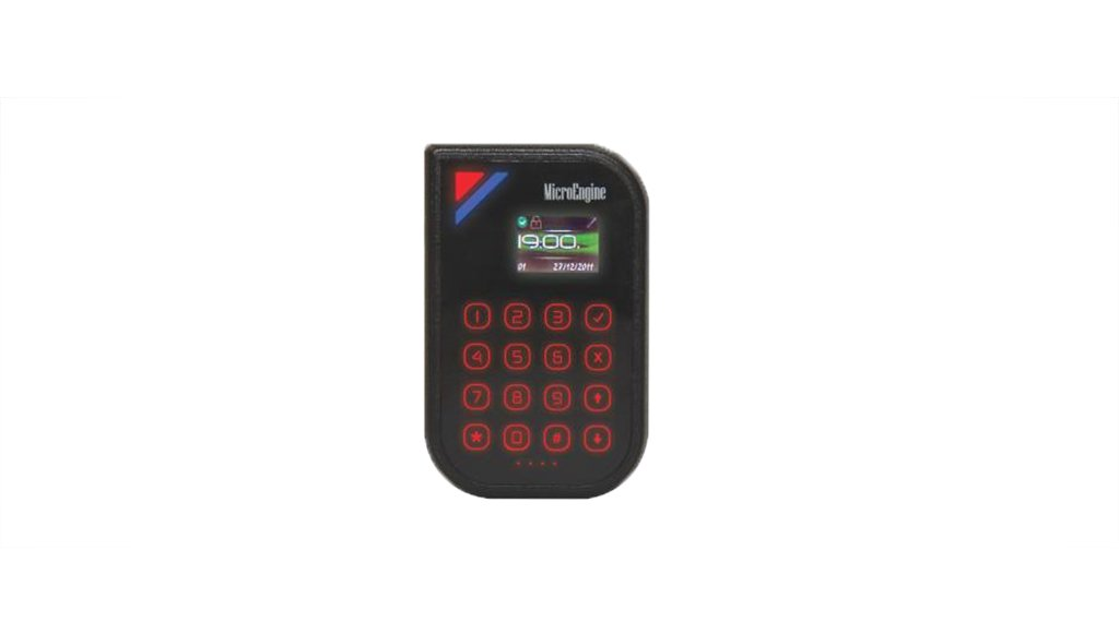Plato-P80KLS. MicroEngine Proximity Reader with Keypad &