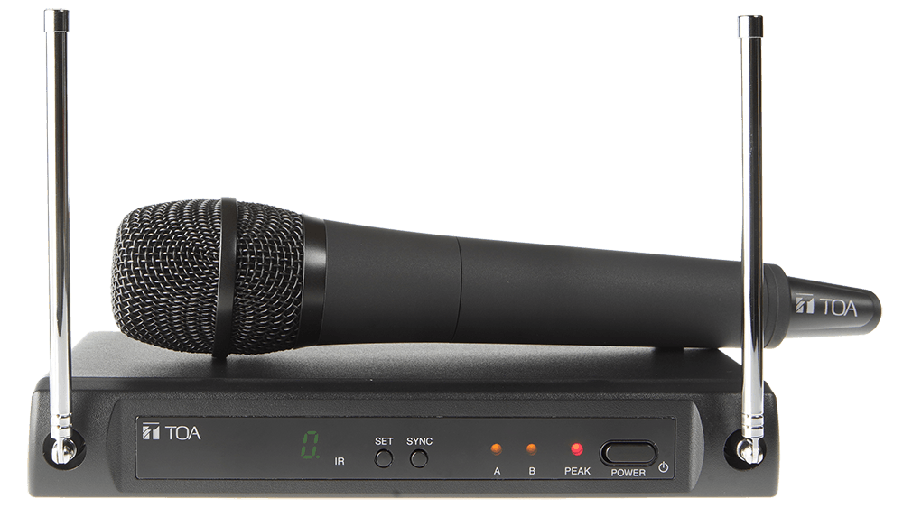 WS-420. TOA Single Channel Wireless Set. #ASIP Connect